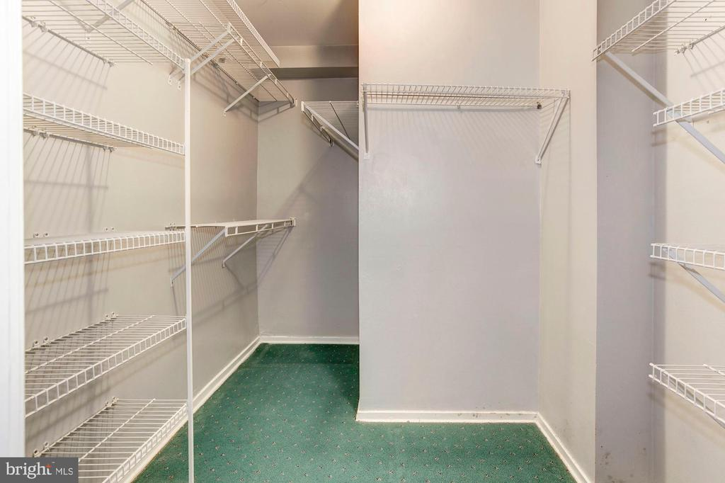 Bedroom #4's HUGE, MASSIVE Walk-In Closet! - 1706 TYVALE CT, VIENNA