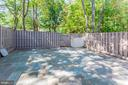 HUGE Back Yard - Fully Fenced! - 1706 TYVALE CT, VIENNA