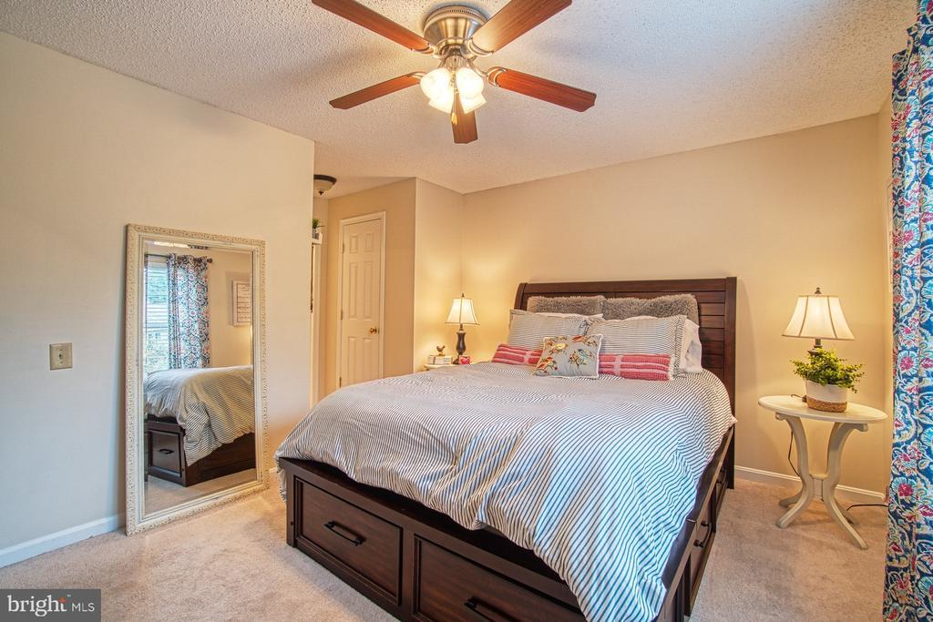Master Bedroom has TWO Closets - 12004 GOLF RIDGE CT #302, FAIRFAX