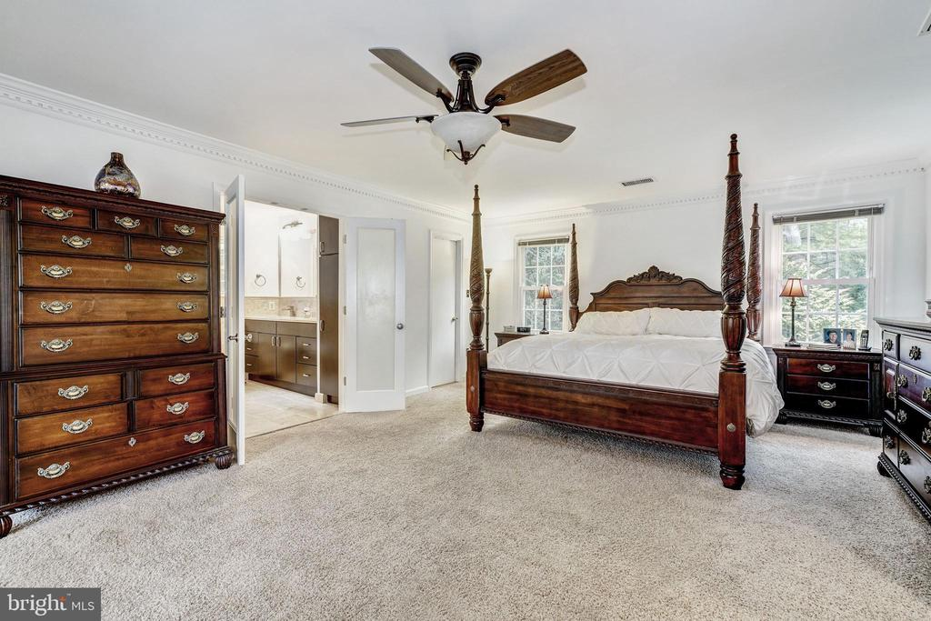 Master Bedroom - 1440 ROSEWOOD HILL DR, VIENNA