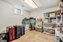 Lower Level Storage Room - 1440 ROSEWOOD HILL DR, VIENNA