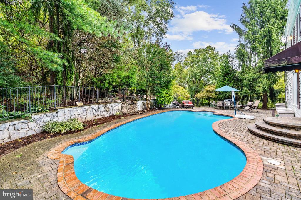 Private Pool Oasis - 1440 ROSEWOOD HILL DR, VIENNA