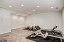 Exercise Room in Lower Level - 1440 ROSEWOOD HILL DR, VIENNA