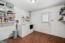 Laundry Room with Access to the Pool - 1440 ROSEWOOD HILL DR, VIENNA