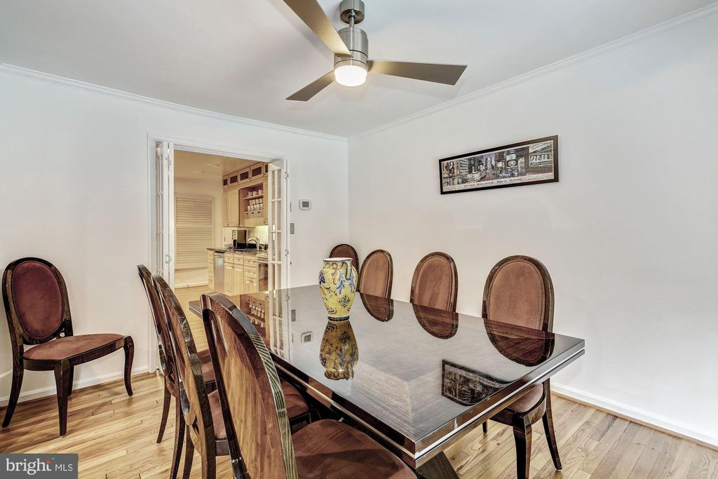 Formal Dining Room - 1440 ROSEWOOD HILL DR, VIENNA