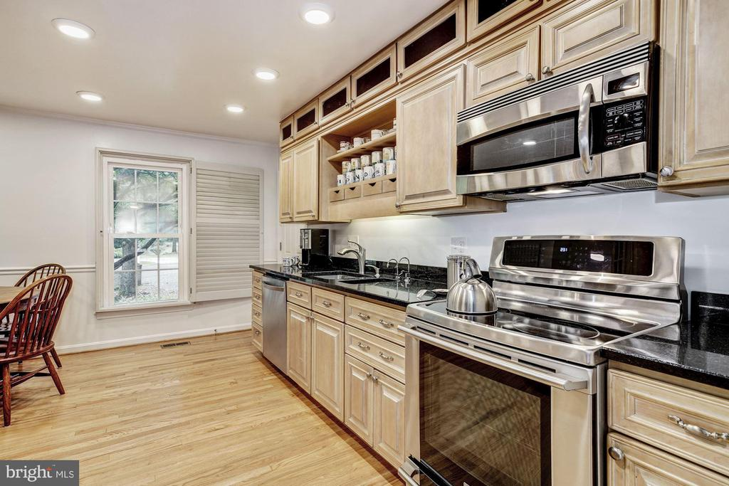 Eat-In Kitchen - 1440 ROSEWOOD HILL DR, VIENNA