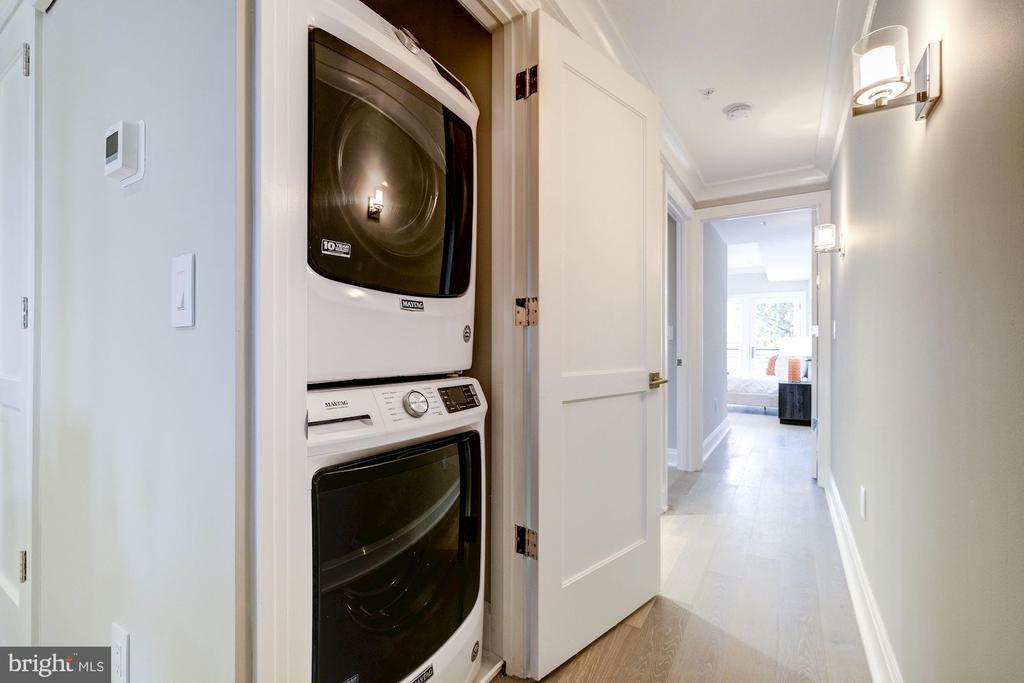 Washer/Dryer - 2560 UNIVERSITY PL NW #PH, WASHINGTON