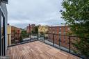 Roof deck - 2560 UNIVERSITY PL NW #PH, WASHINGTON