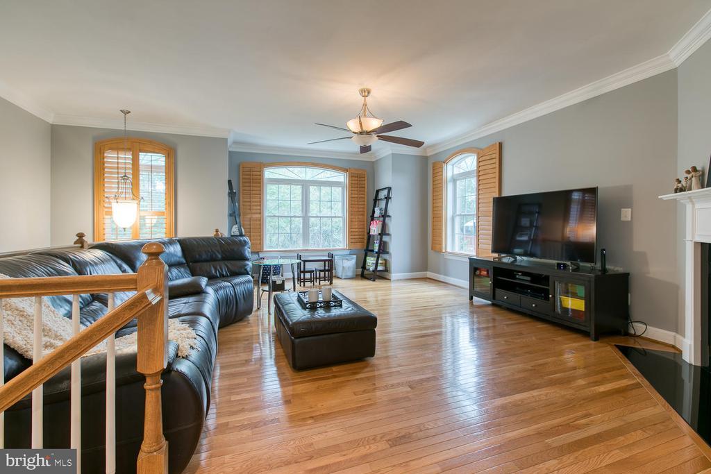 Light-filled Living Room! - 122 QUIETWALK LN, HERNDON