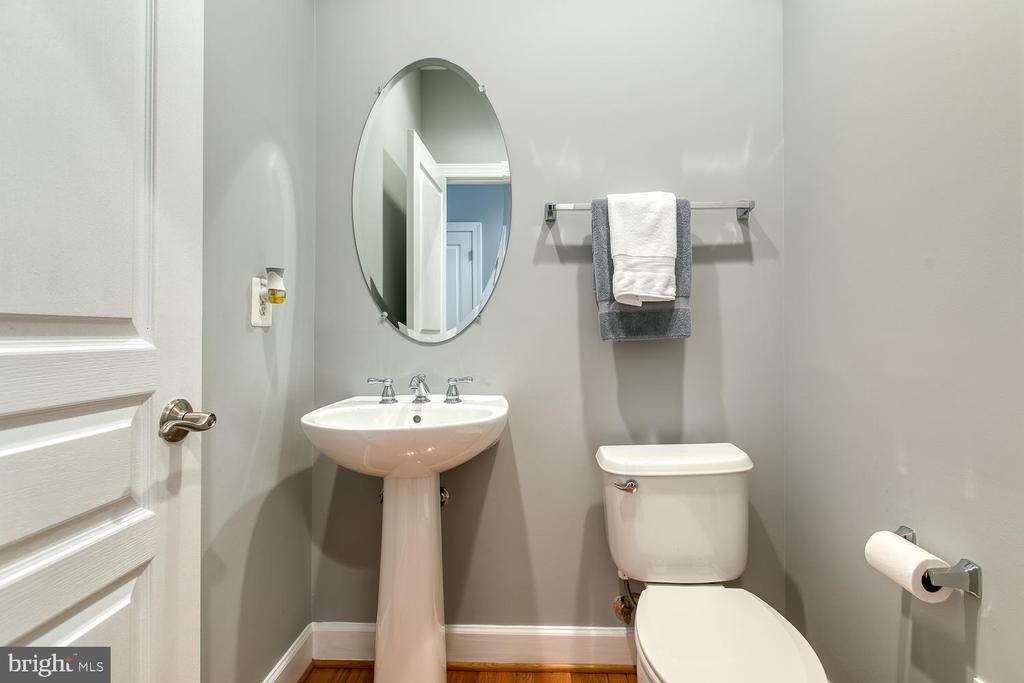 Main-level half bath - 122 QUIETWALK LN, HERNDON