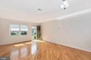 Gleaming hardwood throughout mail level - 820 MEWS LN, FREDERICK