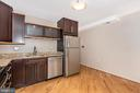 Stainless steel appliances in eat-in kitchen - 820 MEWS LN, FREDERICK