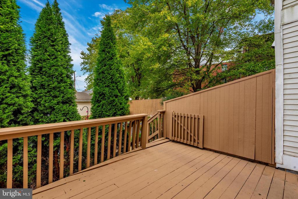 Original deck - To Be Replaced SOON! - 820 MEWS LN, FREDERICK