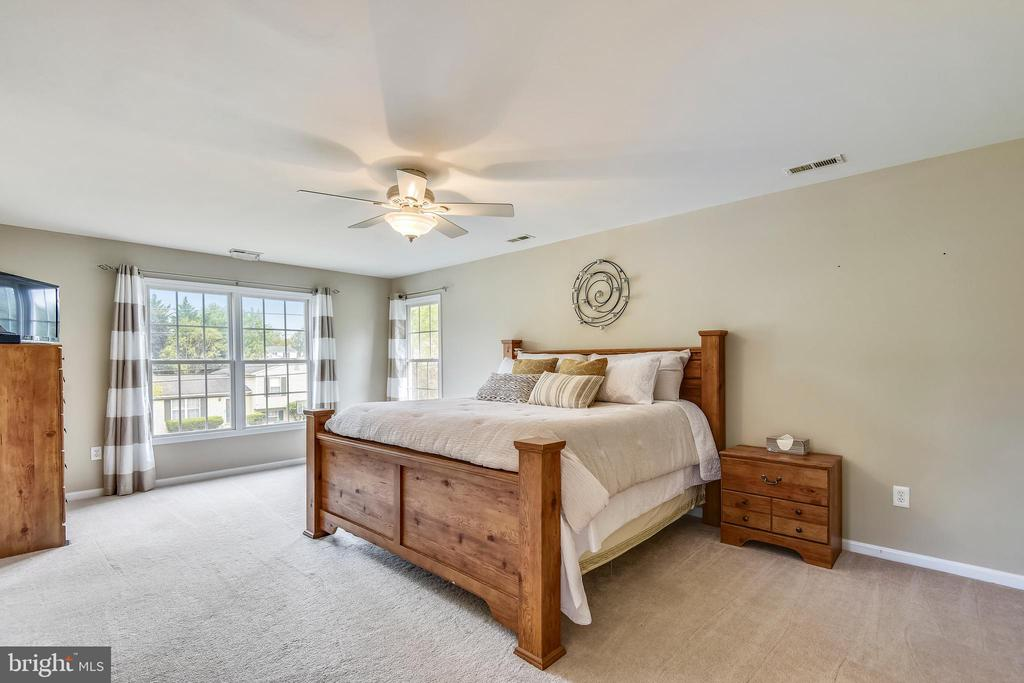 Spacious master bedroom with walk-in closet - 29 S CHURCH ST, LOVETTSVILLE