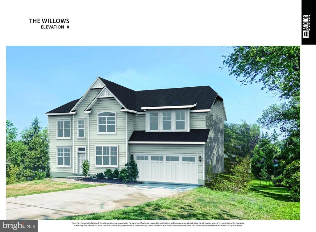 Elevation A - 7015 WOODLAND DR, SPRINGFIELD