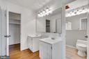master bathroom - 3706 RIVERWOOD CT, ALEXANDRIA