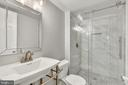 basement full bath - 3706 RIVERWOOD CT, ALEXANDRIA