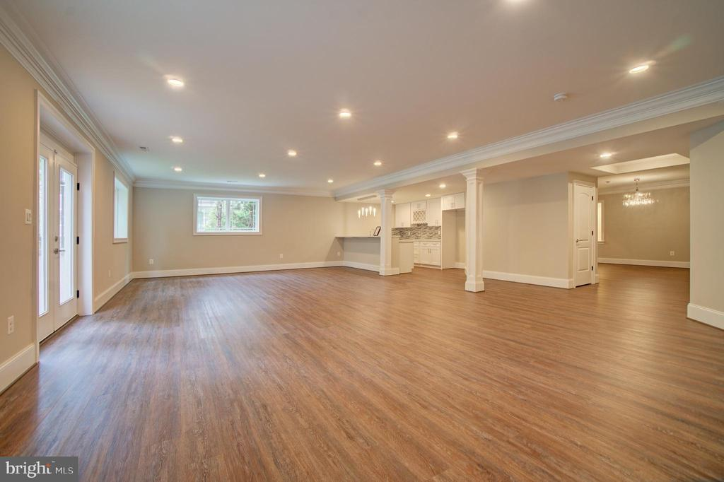 Recreation Room (Model Photo) - 822 18TH ST S, ARLINGTON