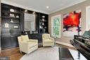 Custom built-ins with file drawers - 900 GLYNDON ST SE, VIENNA