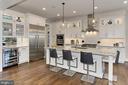 Kitchen - Thermador builtin appliances - 900 GLYNDON ST SE, VIENNA