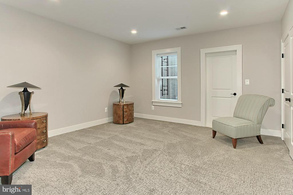 Bedroom 5 with double closets & large storage room - 900 GLYNDON ST SE, VIENNA