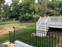 Backyard - 7534 LISLE AVE, FALLS CHURCH