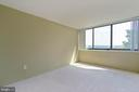 Great size bedroom that big enough for a king - 12 S VAN DORN ST #404, ALEXANDRIA