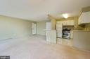 Dining and kitchen area is so convenient - 12 S VAN DORN ST #404, ALEXANDRIA