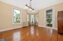 Jib Window and Inlaid Hardwood Floors - 216 E MAIN ST, MIDDLETOWN