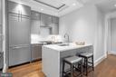 Custom cabinetry and panelized appliances - 418 7 ST SE #101, WASHINGTON