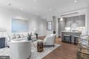 Open Concept living / kitchen - 418 7 ST SE #101, WASHINGTON