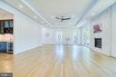 Stunning Stained White Oak Hardwood Flooring - 4531 40TH ST N, ARLINGTON