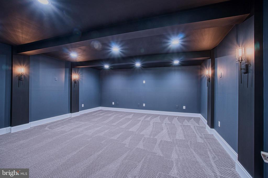 Media Room in Lower Level - 4531 40TH ST N, ARLINGTON