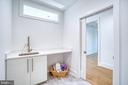 Laundry Room with Custom Cabinetry - 4531 40TH ST N, ARLINGTON