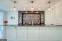 Custom Built Espresso Cabinetry & Glass Shelving - 4531 40TH ST N, ARLINGTON