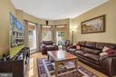 Inviting Family Room with Bay Window - 41743 STUMPTOWN RD, LEESBURG