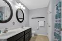 Dual Sinks in Guest Bathroom - 41743 STUMPTOWN RD, LEESBURG