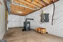 Warm Wood Stove in Walk-out Basement - 41743 STUMPTOWN RD, LEESBURG