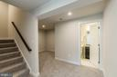 Let's go downstairs to lower level - 2283 RIVER BIRCH RD, DUMFRIES