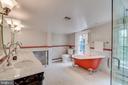 Renovated master bath - 300 QUEEN ST, ALEXANDRIA