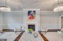 Fireplace adds to ambiance - 300 QUEEN ST, ALEXANDRIA