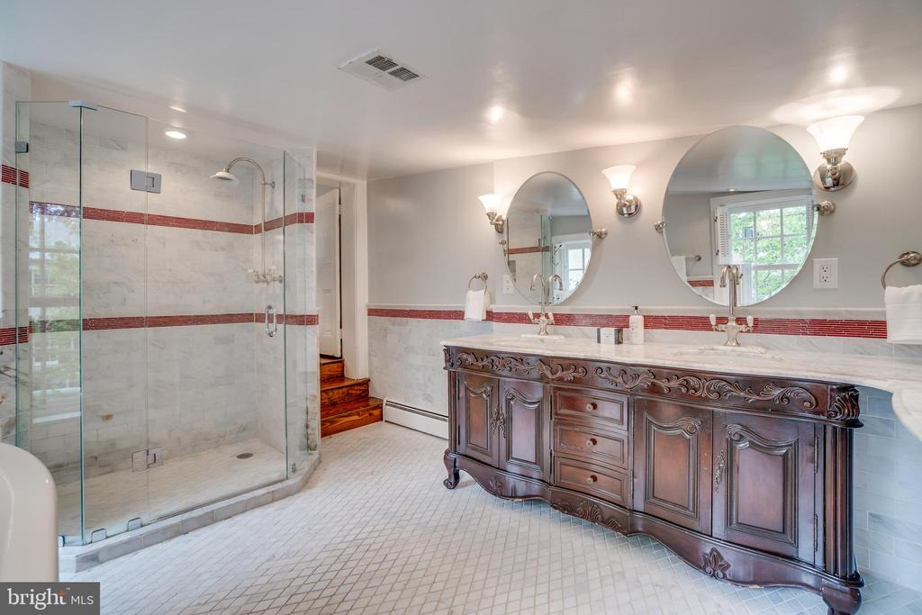 Separate, large shower in master bath - 300 QUEEN ST, ALEXANDRIA