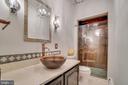 Renovated upper level bathroom - 300 QUEEN ST, ALEXANDRIA