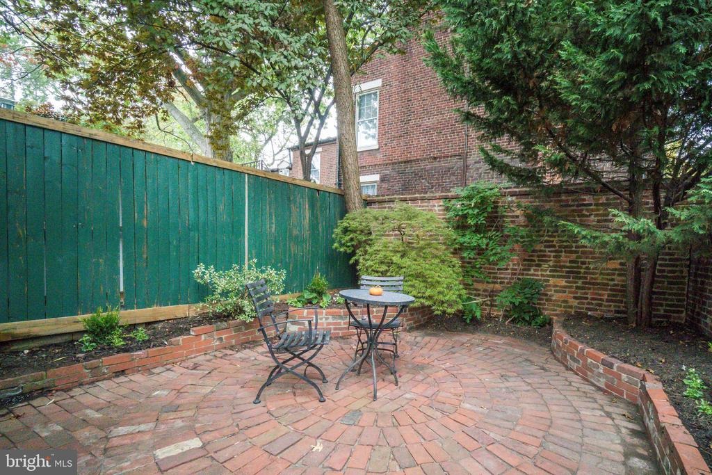 Delightful back, walled  and private patio - 300 QUEEN ST, ALEXANDRIA