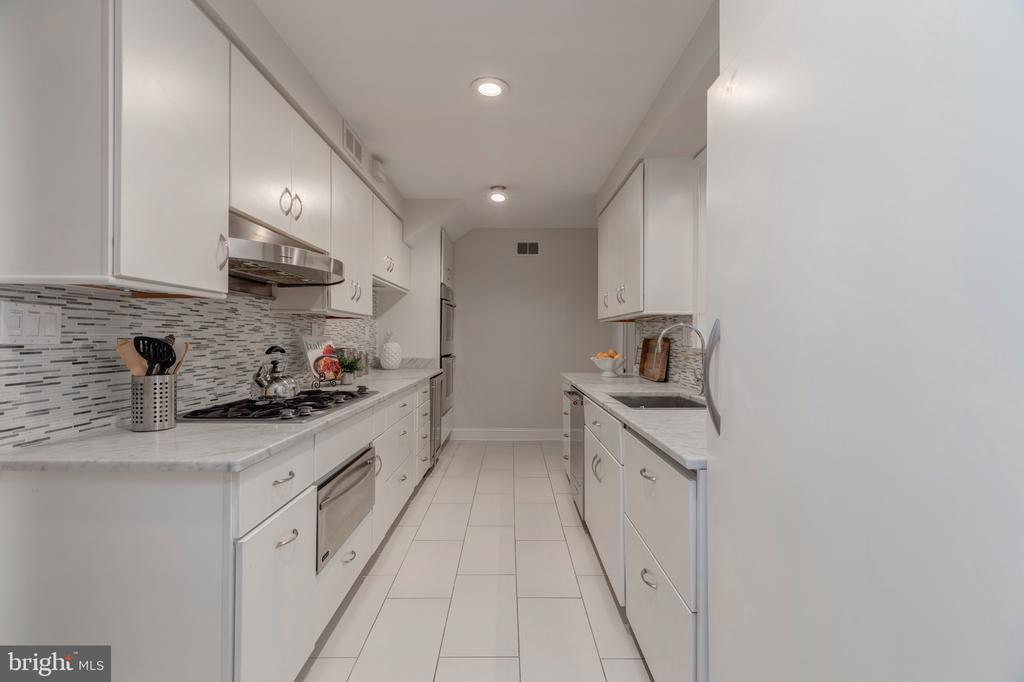 Renovated Kitchen - 3601 TILDEN ST NW, WASHINGTON