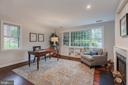 Main level Library/Bedroom - 3601 TILDEN ST NW, WASHINGTON