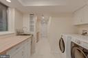Laundry/2nd Kitchen - 3601 TILDEN ST NW, WASHINGTON