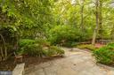 Deep, private garden - 3601 TILDEN ST NW, WASHINGTON