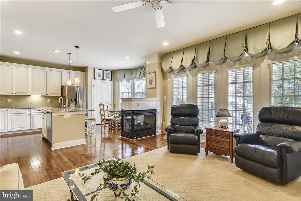 Family Room/Kitchen - 43433 WILD DUNES SQ, LEESBURG