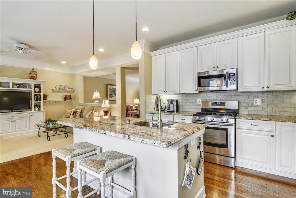 Kitchen open to Family Room - 43433 WILD DUNES SQ, LEESBURG